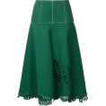 JecaKNS - FENDI flared midi skirt - Skirts -