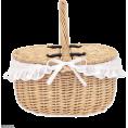 aestheticbtch - FRENCH DOLL picnic basket - Hand bag -