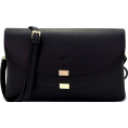 Mary Cheffer - FRONT FLAP CROSSBODY BAG-BLK - Hand bag - $30.00