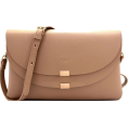 Mary Cheffer - FRONT FLAP CROSSBODY BAG-STONE - Hand bag - $30.00