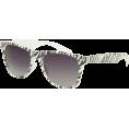 Full Tilt - FULL TILT Wildfire Sunglasses White/Black - Sunglasses - $9.99