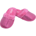 DiscoMermaid  - FUR SLIPPERS PINK - Uncategorized -