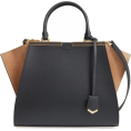 Olga  - Fendi 3Jours Leather & Suede Shopper - Bolsas pequenas -