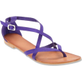 lence59 - Flat Purple - Sandals -