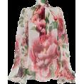 Aida Susi Silva - Floral Blouse - Dolce & Gabbana - Long sleeves shirts -