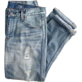 Marion Miller - Folded Denim Jeans - Jeans -