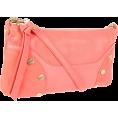 Foley + Corinna - Foley + Corinna Women's FC Lady Clutch Coral - Clutch bags - $77.13