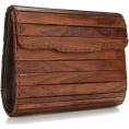 sandra  - French connection wooden clutch - Clutch bags -