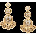 beautifulplace - GAS BIJOUX Sequin double earrings - Uhani -