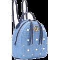 Qiou - GG Marmont embellished backpack - Nahrbtniki -