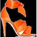 Georgine Dagher - GIA COUTURE Katia 120mm bow sandals - Sandálias - $424.00  ~ 364.17€