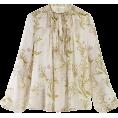 beautifulplace - GIAMBATTISTA VALLI  Floral-print smocked - Long sleeves shirts -
