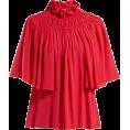 beautifulplace - GIAMBATTISTA VALLI  Ruffled and smocked - Long sleeves shirts -