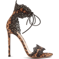 beautifulplace - GIANVITO ROSSI  Leopard-print lace-trimm - Sandals -