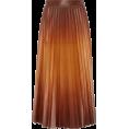 HalfMoonRun - GIVENCHY pleated leather skirt - Skirts -