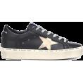beautifulplace - GOLDEN GOOSE DELUXE BRAND Hi Star leathe - Sneakers -