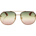 beautifulplace - GUCCI Glitter Aviator Sunglasses - Sunglasses -