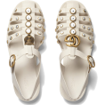 vespagirl - GUCCI Rubber sandal with crystals - Sandals - $650.00