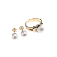 Gale Gold - Gale bijeli biser 7 - Rings -