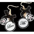 Gear - naušnice - Earrings -