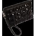 PacificPlex - Gem Studded Wristlet Clutch Zip-Top Detachable Chain Strap - Clutch bags - $27.99