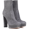 Aurora  - Gianvito Rossi Grey Ankle Boots - Boots -