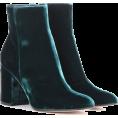 sandra  - Gianvito Rossi velvet ankle boots - Botas -