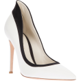 Rocksi - Giavanito Rossi Black and White Pointed- - Classic shoes & Pumps -