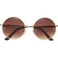 nanawidia - Gold-colored. Round sunglasses - Sunglasses -