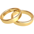Bev Martin - Gold Wedding Rings - Кольца -