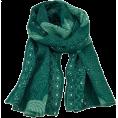 Maria Kuroshchepova - Green scarf - SilkRoad - Scarf -