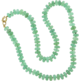 Jay Han - Green Chrysoprase Beaded Necklace - Necklaces -