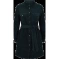Aurora  - Green Cord Dress - Dresses -