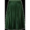 lence59 - Green Pleated Skirt - Skirts -