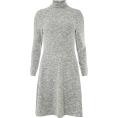 Aurora  - Grey Sweater Dress - Dresses -