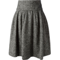 sandra  - Grey a-line skirt from Dolce & Gabbana - Skirts -