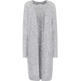 Elie - Grey knit cardigan  - Cardigan -