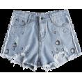 fshionme - Grommat Destroyed Cutoffs Shorts - Shorts - $21.49