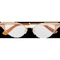 sandra  - Gucci Eyewear cat eye frame glasses - Eyeglasses -