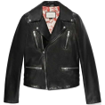 dora04  - Gucci Leather Biker Jacket - Jacket - coats -