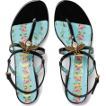 vespagirl - Gucci Patent leather sandal with bee - Sandals - $750.00