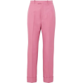 lence59 - Gucci Twill Straight-leg Pants - Capri & Cropped -