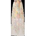 beautifulplace - Gucci Women's Floral Print Sheer Skirt - Krila -