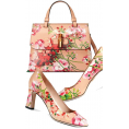 Kitty Kimber  - Gucci floral shoes and bag - Hand bag -