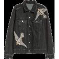thenycbaglady - H&M Denim Jacket with Rhinestones - Jacket - coats -