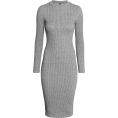 Aurora  - H&M Ribbed Midi Dress - Dresses -