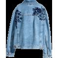 sandra  - H&M embroidered denim jacket - Jeans -
