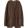 sandra  - H&M knit cardigan in brown - Puloverji -