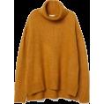 sandra  - H&M mustard yellow knit jumper - Maglioni -