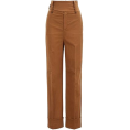 lence59 - HUGO BOSS Regular-fit wide-leg trousers - Capri hlače -